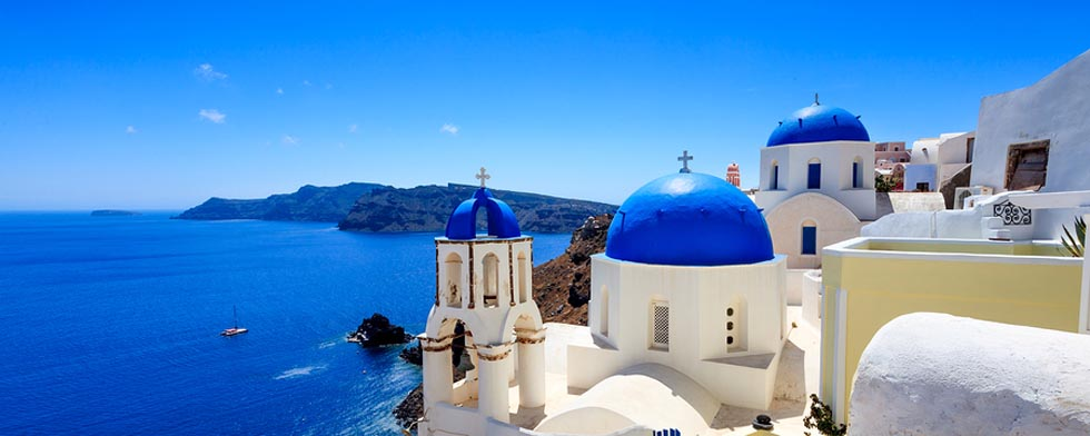 Santorini Greece Thira