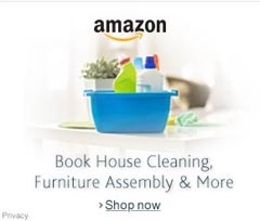 Amazon Home Cleaning Service