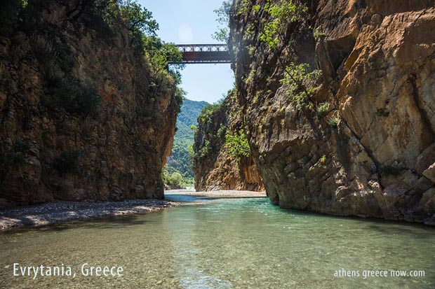 Water River Evrytania Greece