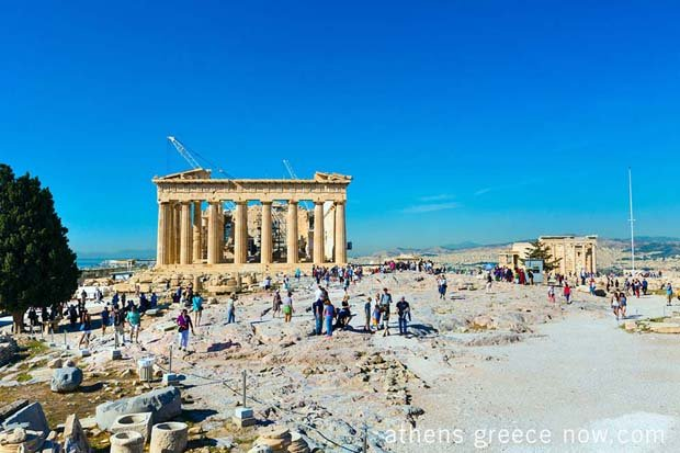 Athens Greece - Parthenon - Acropolis