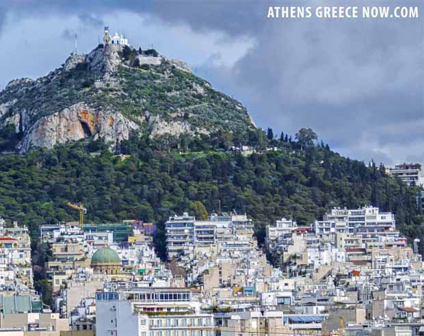 Lycabettus Mountain Athens Greece