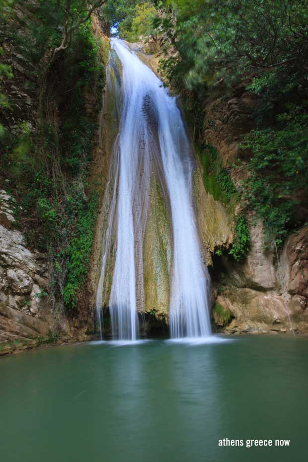 Neda Waterfall in the Peloponnese