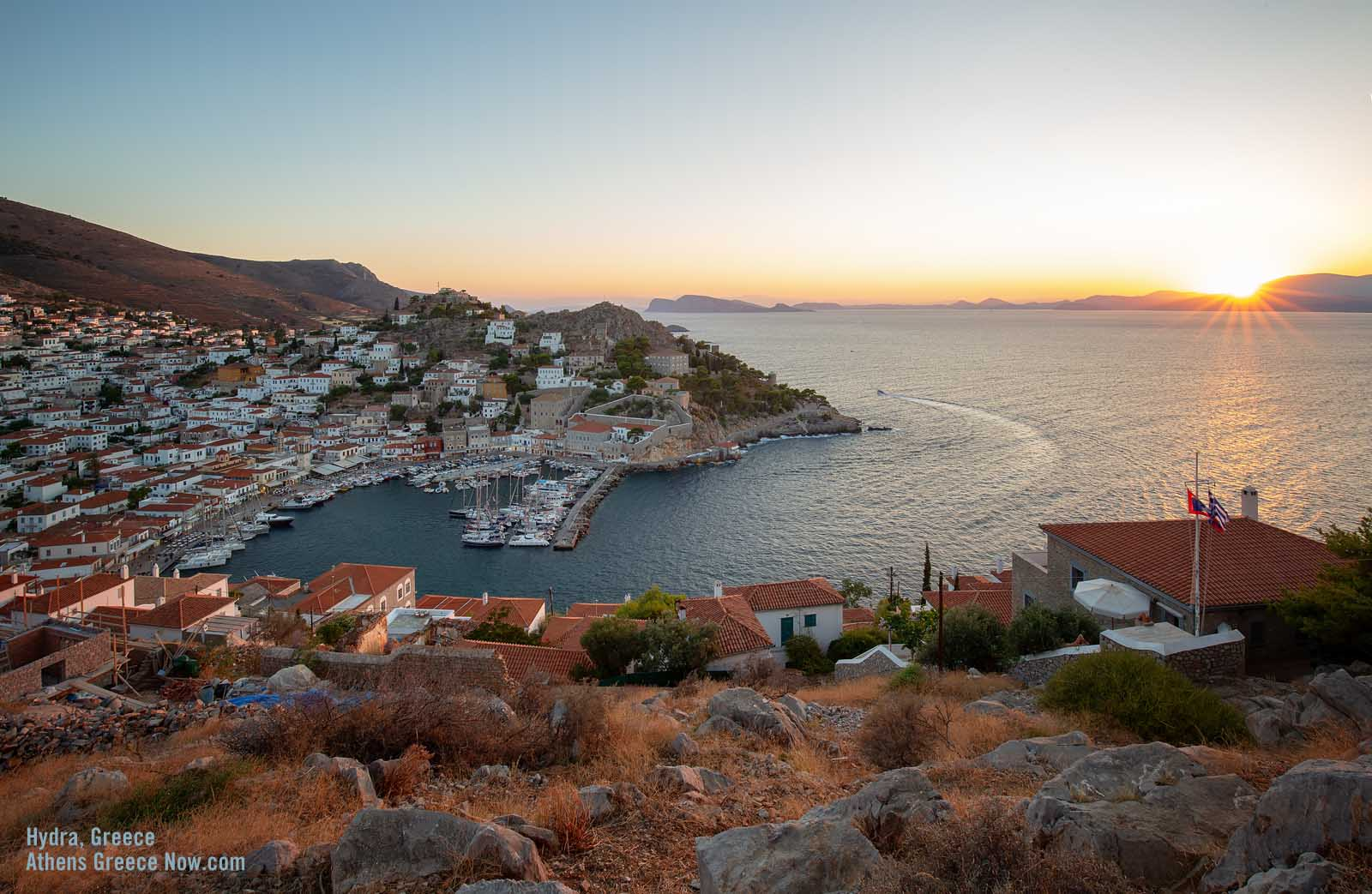 Enlarged image - Hydra Island Greece