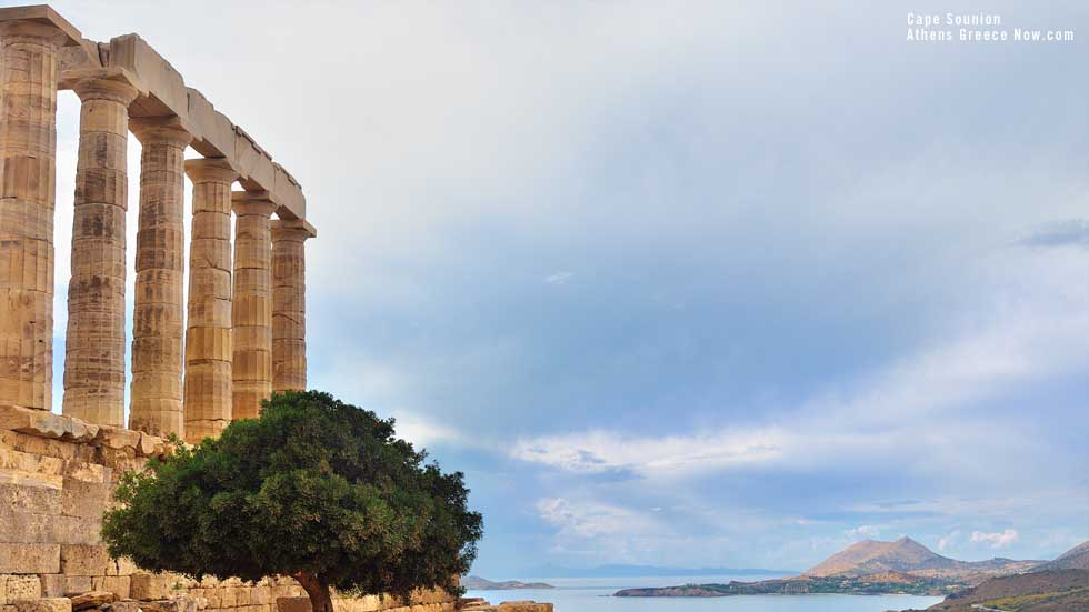 Temple at Cape Sounion