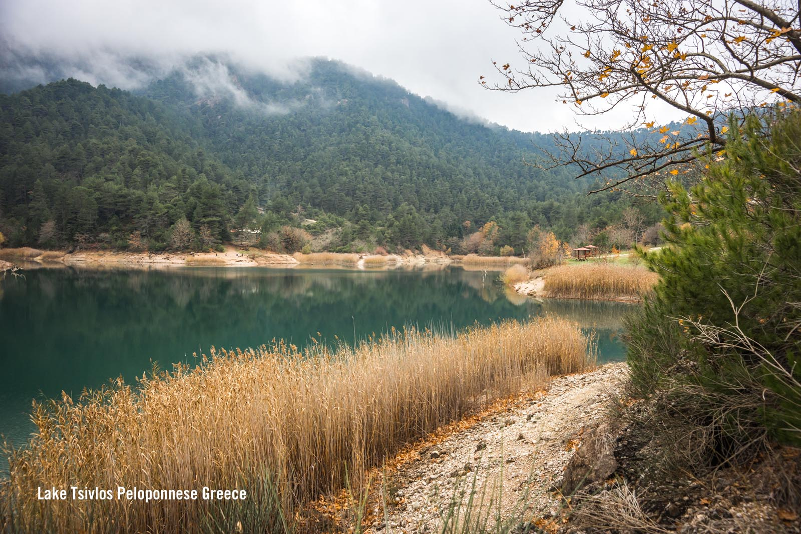 Enlarged - Lake Tsivlos Peloponnese Greece