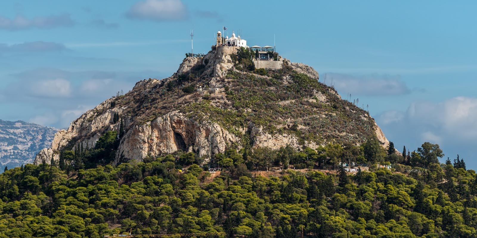 Enlarged -  Lycabettus Athens Greece
