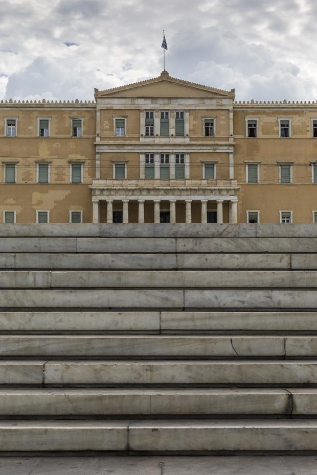 Syntagma Parliament in Athens