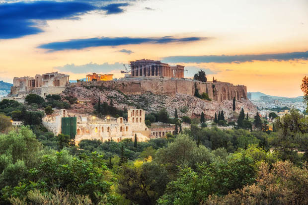 Acropolis at Sunrise