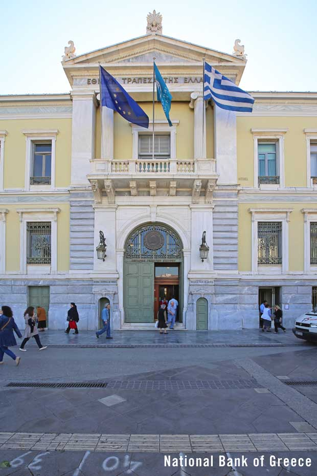 The National Bank of Greece
