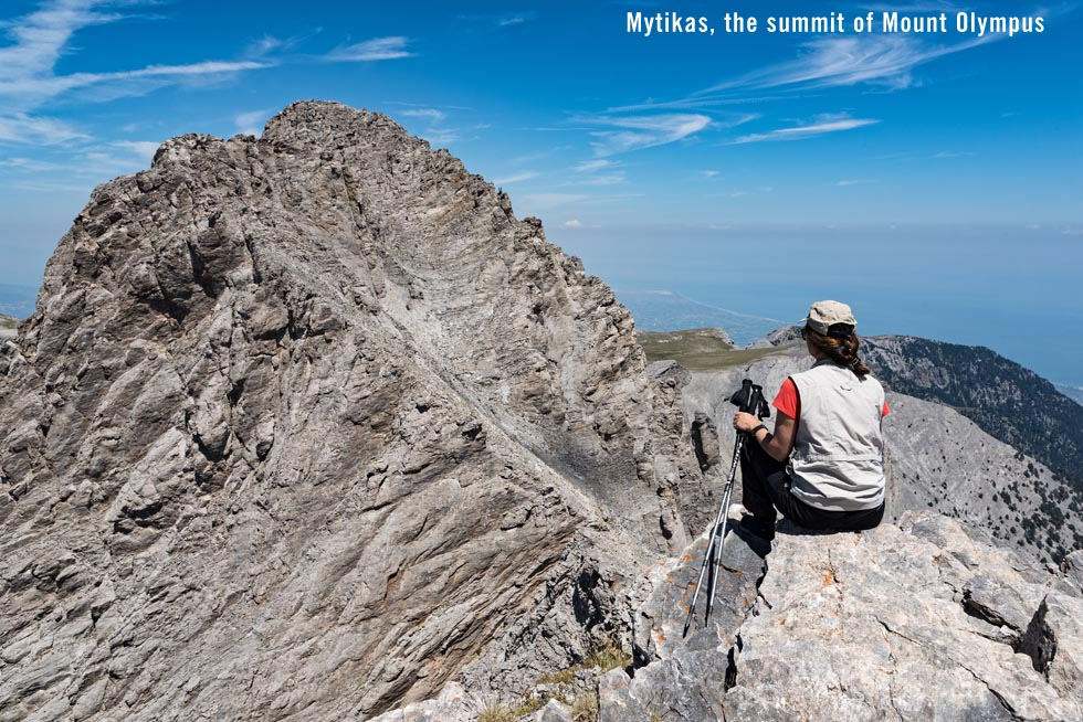Mytikas, the summit of Mount Olympus