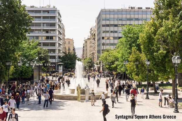 Syntagma Square Athens Greece