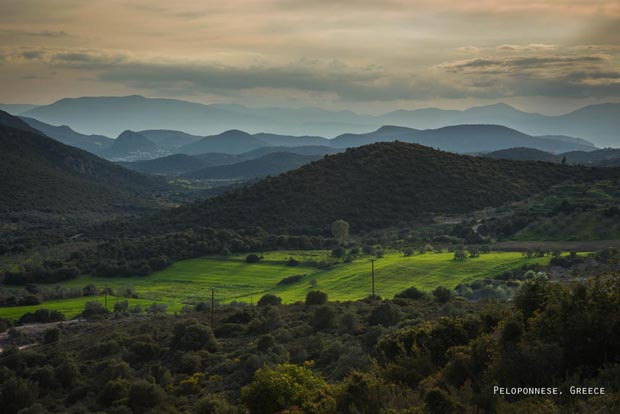 Mountains Peloponnese