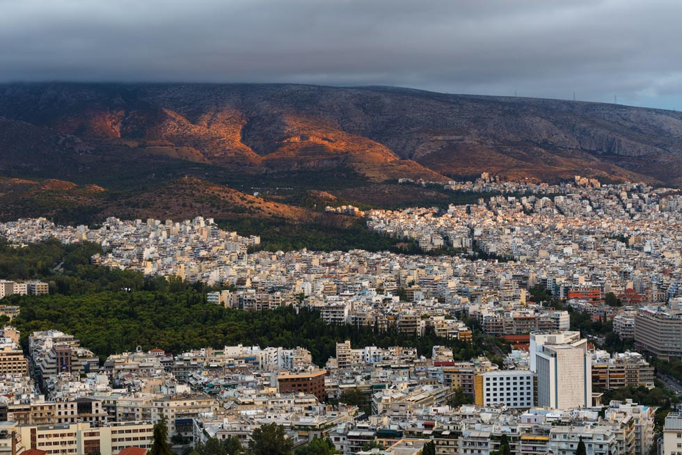 Ymittos Mountain Athens Greece