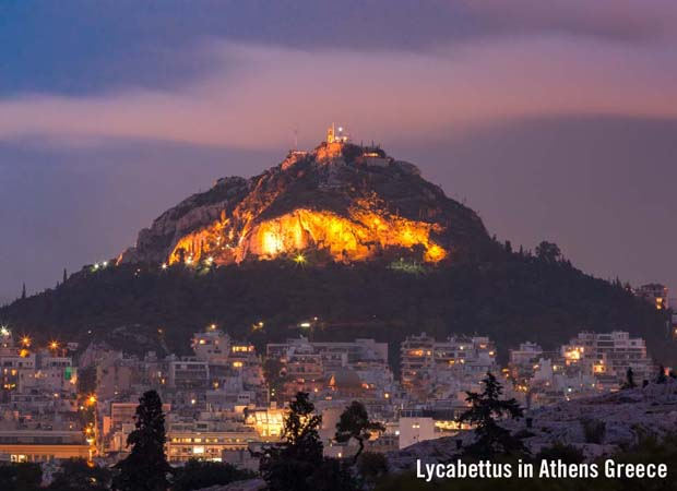 Lycabettus Athens Greece