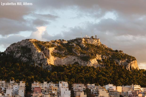 Lycabettus Hill Athens Greece