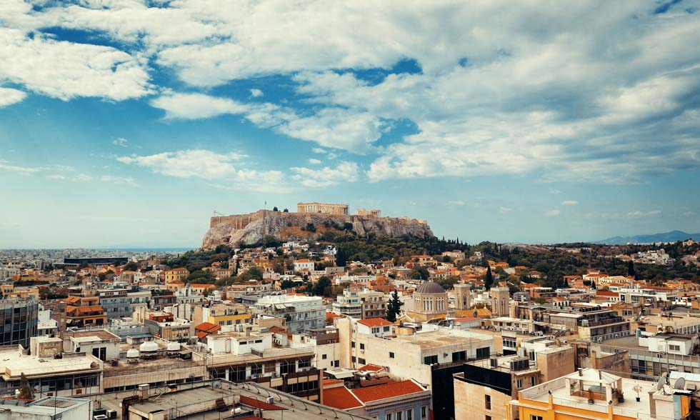 Athens Skyline Greece