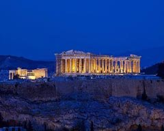 Acropolis Night Time