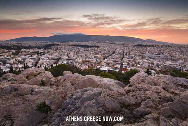 Athens from Filopappou Hill