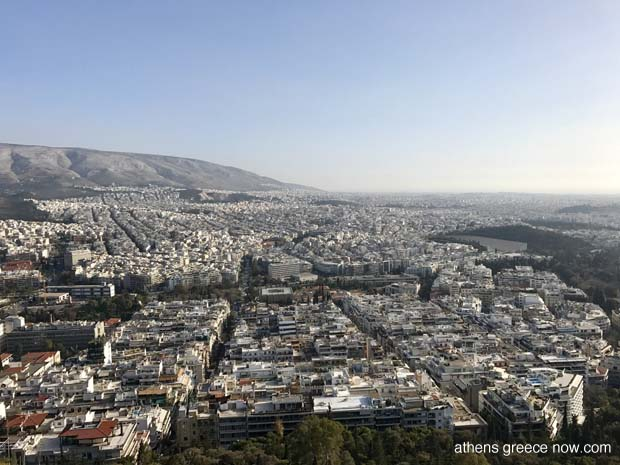 Athens Greece cityscape