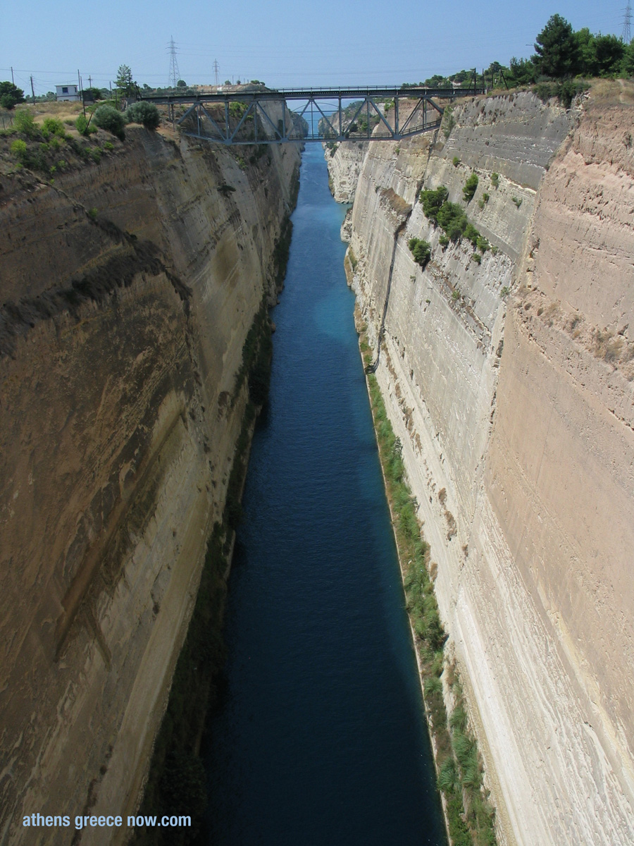Corinth Canal View - Greece