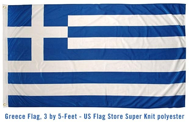 GREEK FLAG HELLAS
