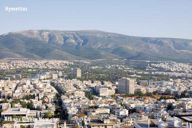 Hymettus Mountain Athens Greece