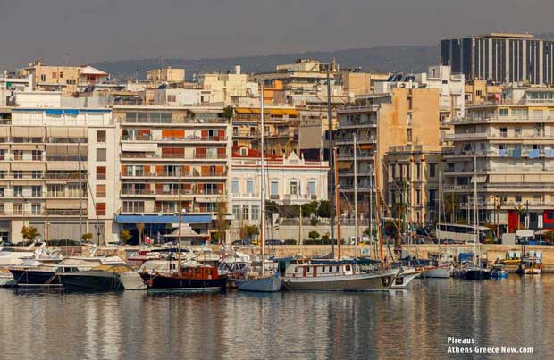 Pireaus Harbor Greece